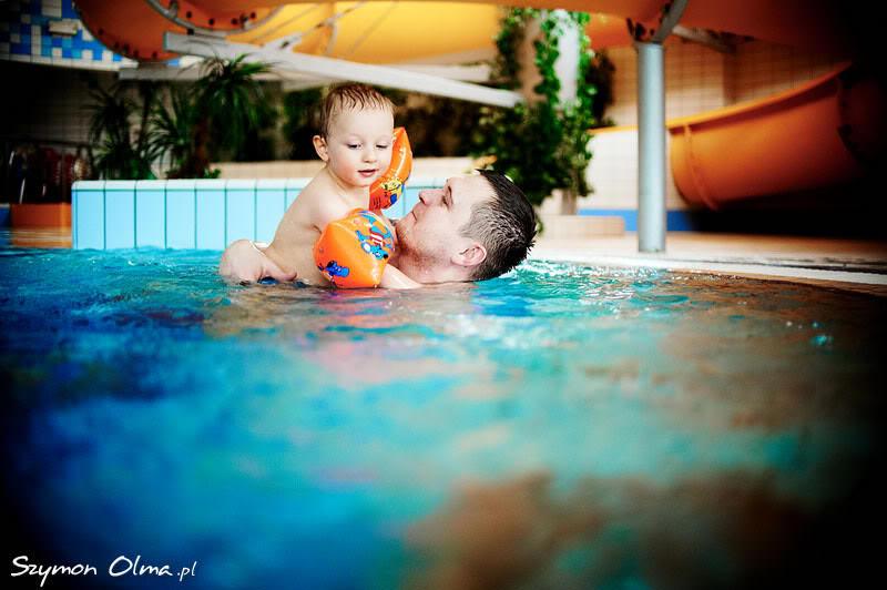 podwodna fotografia rodzinna