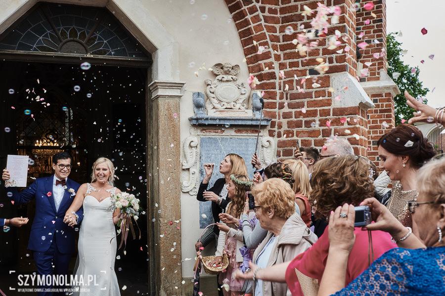wesele na zamku królewskim w niepolomicach