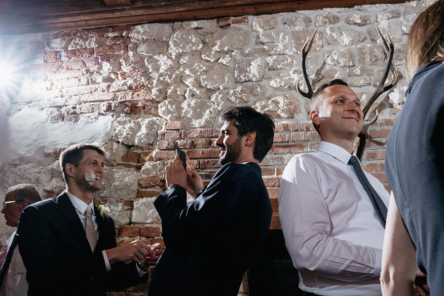 zamek korzkiew przyjecie weselne