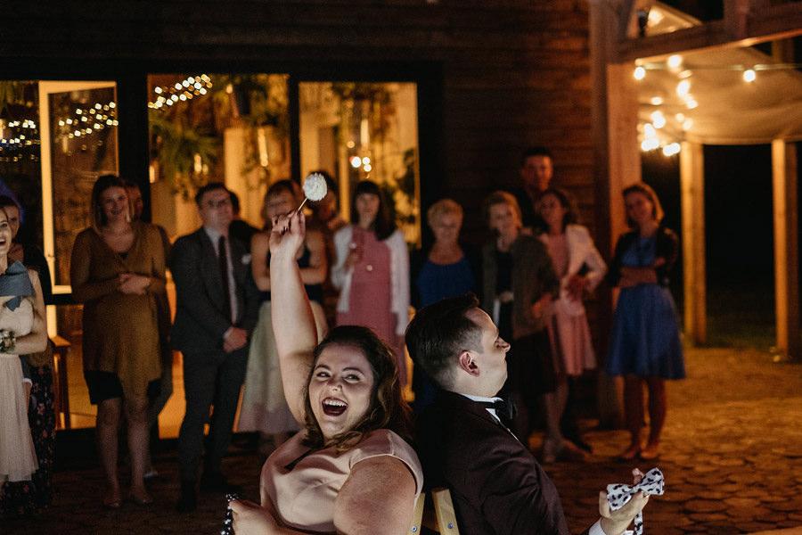 wesele w Stodole Wszystkich Świętych oczepiny