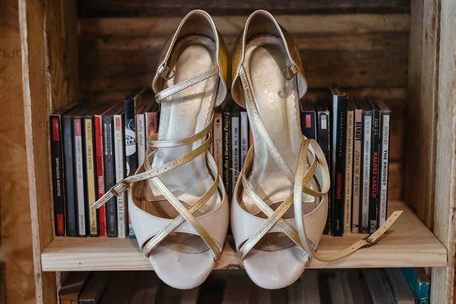 panna młoda buty
