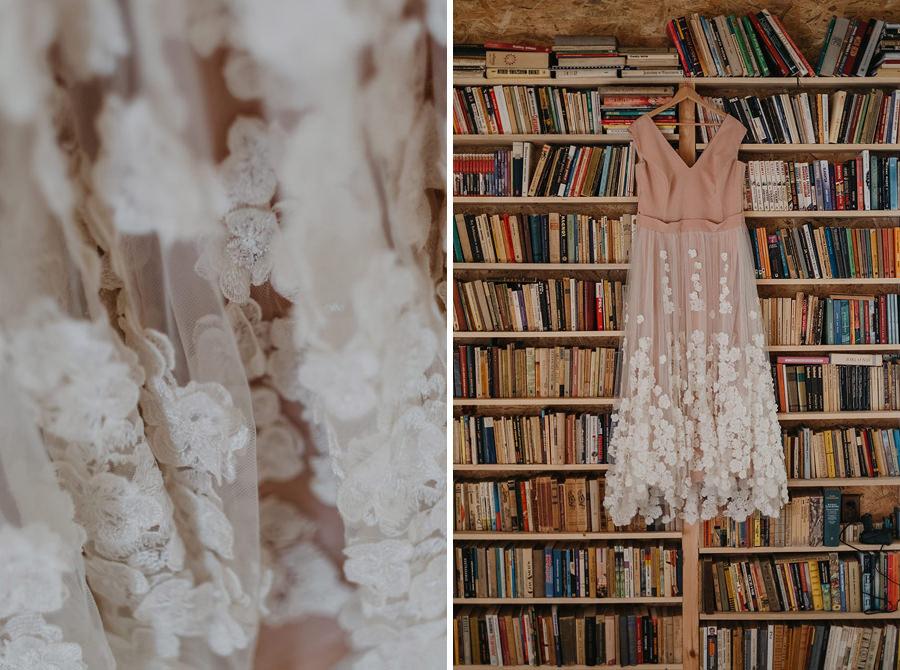 biblioteka panna młoda suknia ślubna