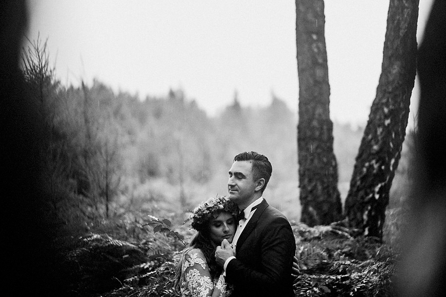 Magda i Mateusz | Sesja Ślubna w Lesie 1