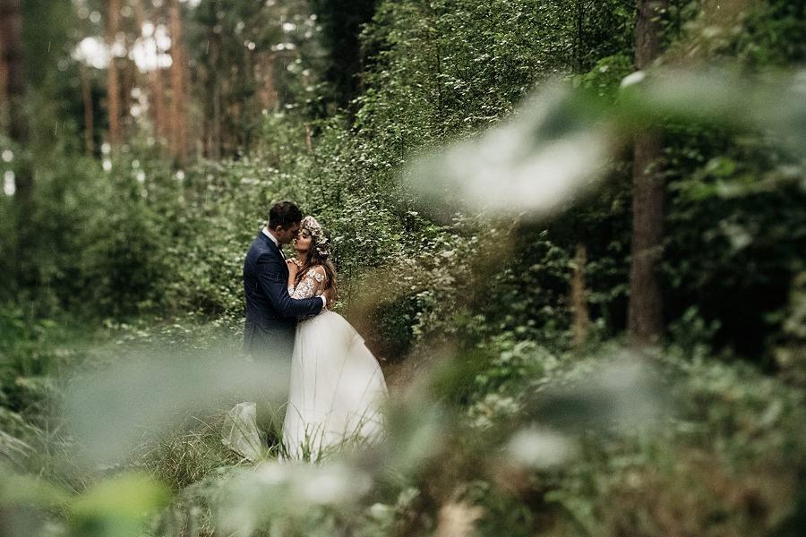 Magda i Mateusz | Sesja Ślubna w Lesie 3