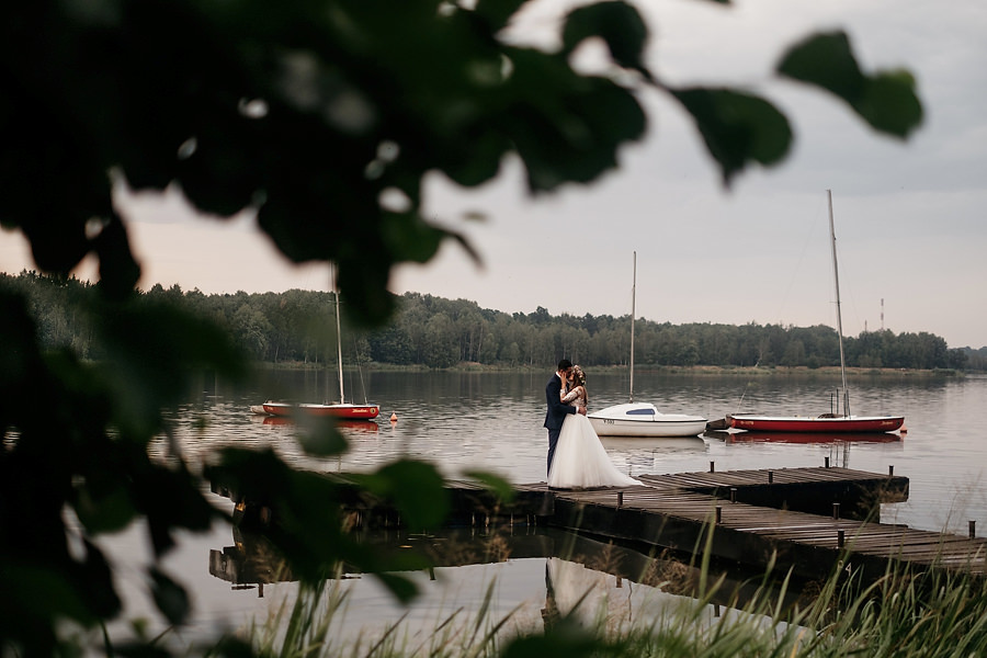 sesja nad jeziorem