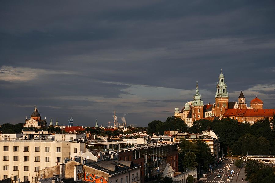 krakow widok