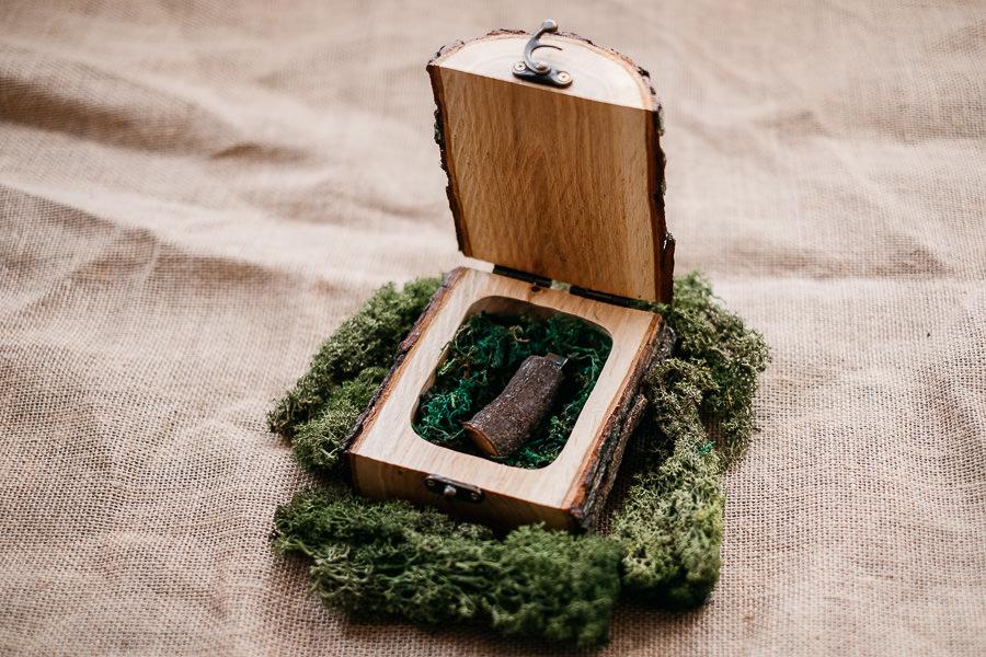 leśne pudełka na pendrive
