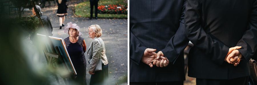 gesty wesele goscie