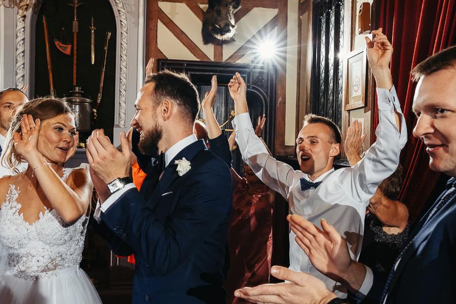 wesele para mloda taniec