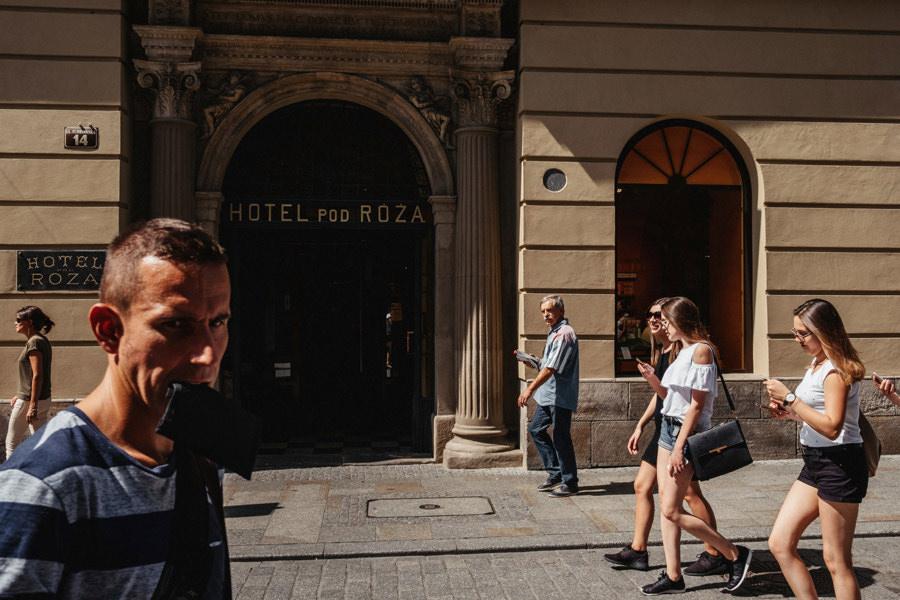hotel pod roza florianska