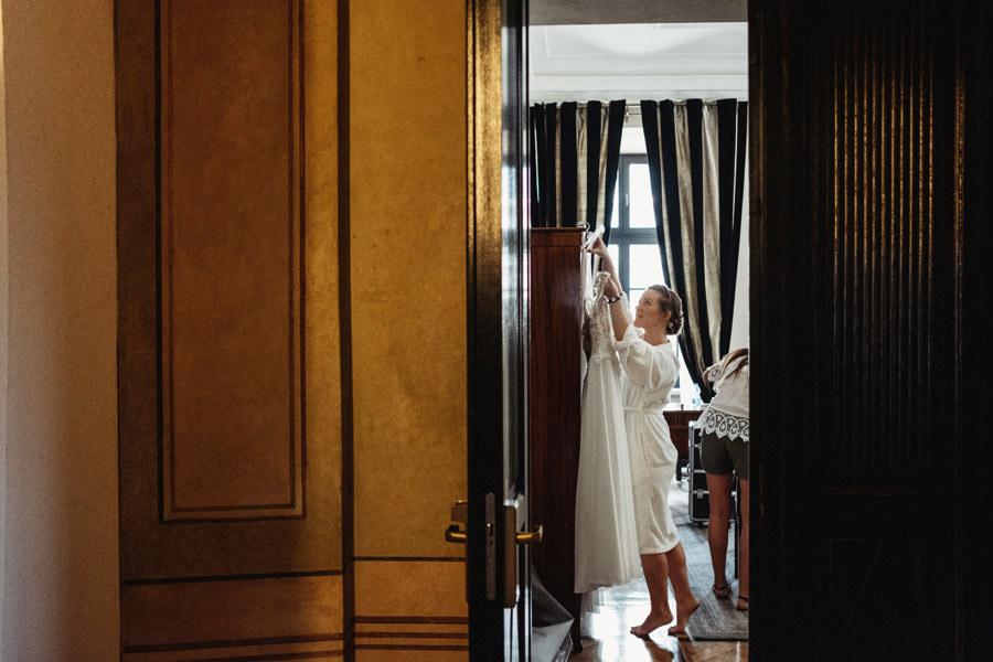 hotel pod roza przygotowania do slubu
