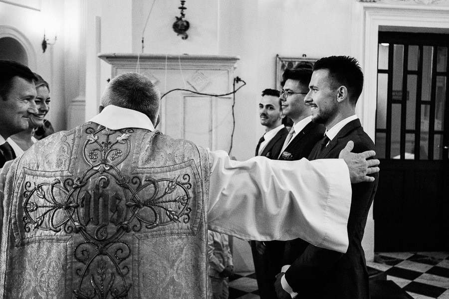 ceremonia slubna na bielanach