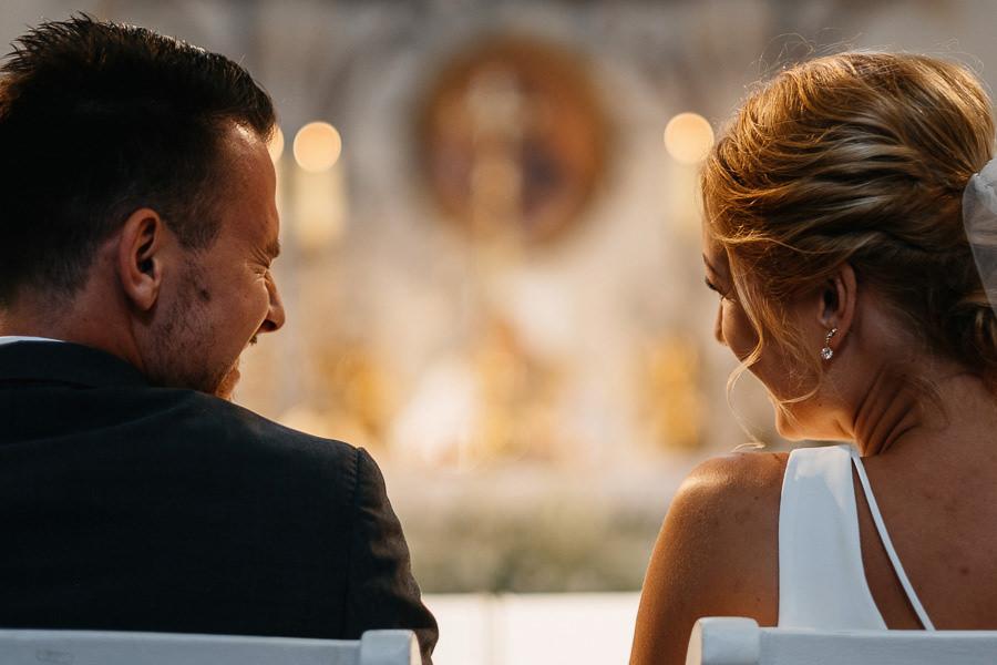 ceremonia slubna na bielanach wejscie