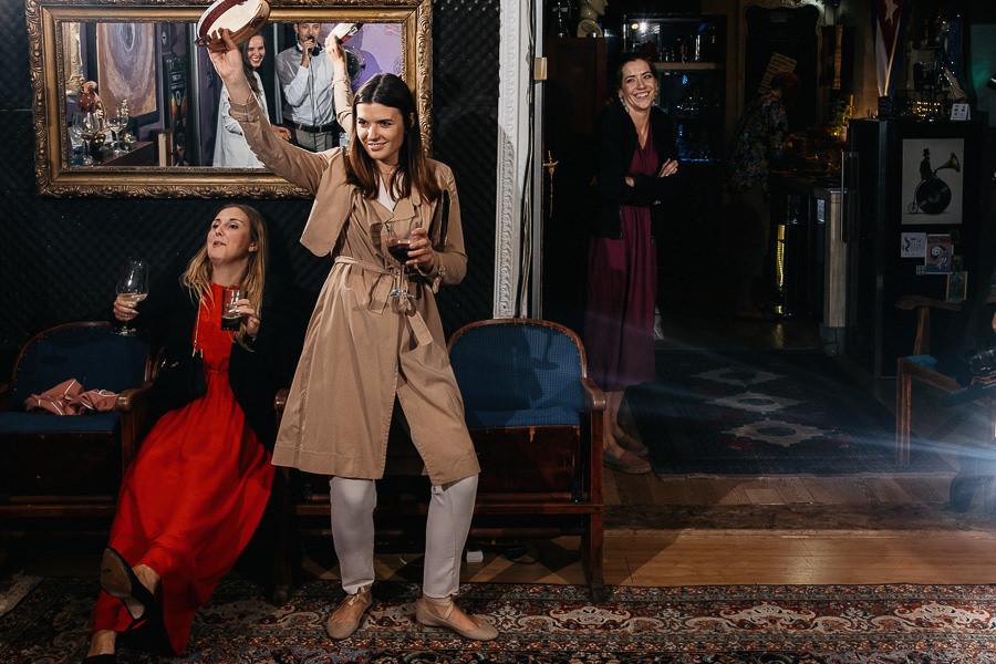 turkusowy domek wesele