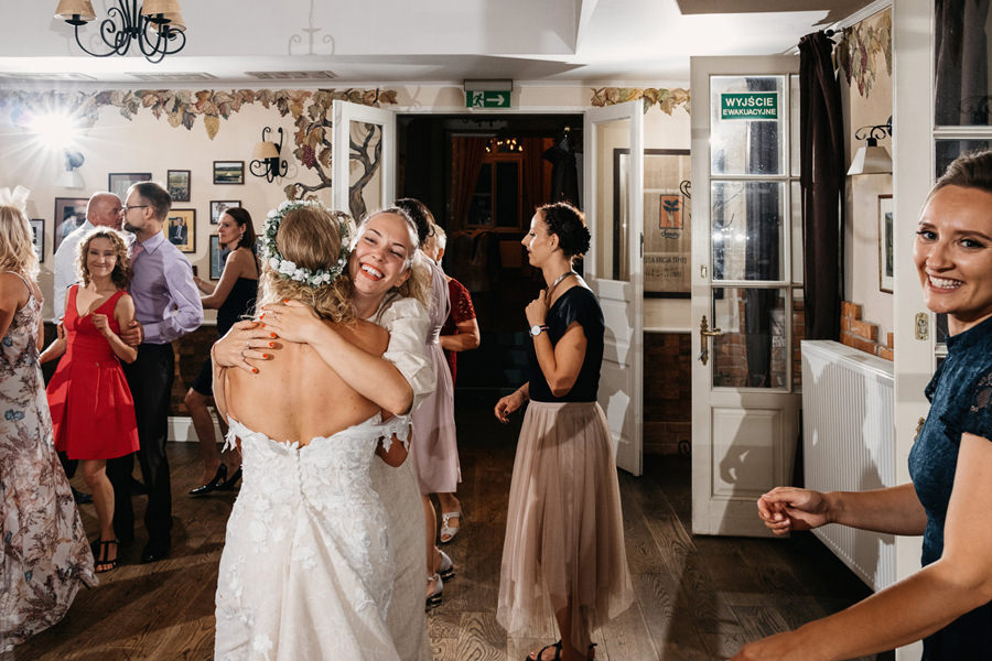 eleganckie wesele dwór sieraków