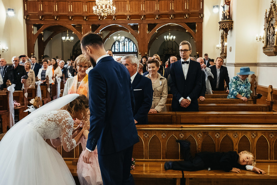 ślub dzieci śmieszne sytuacje