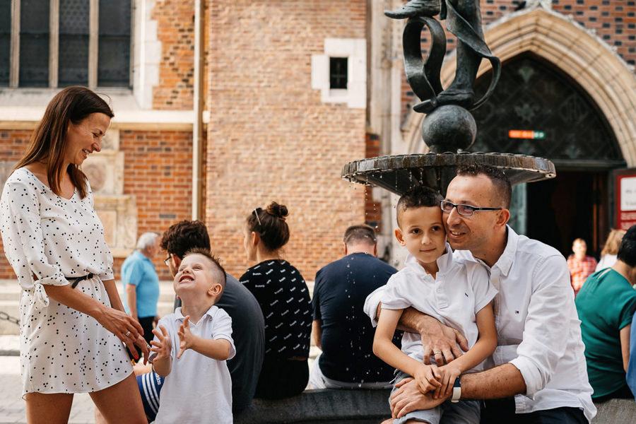 zdjęcia rodzinne w Krakowie