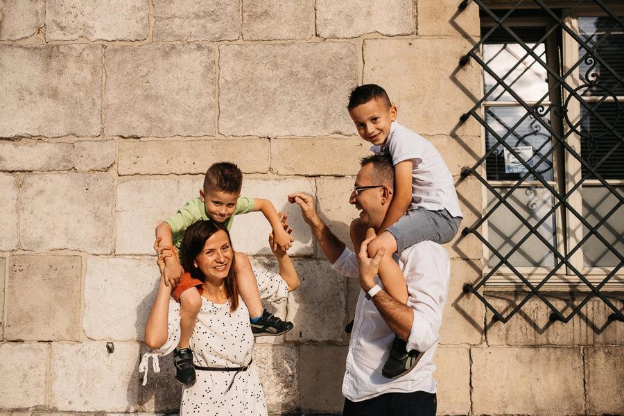 rodzinna sesja zdjęciowa Kraków