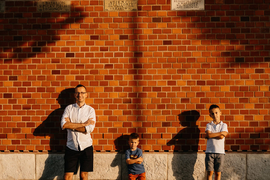 sesja tata i dzieci