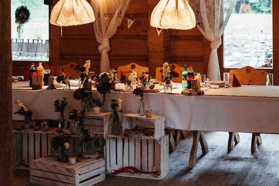 dekoracje gościniec szumny