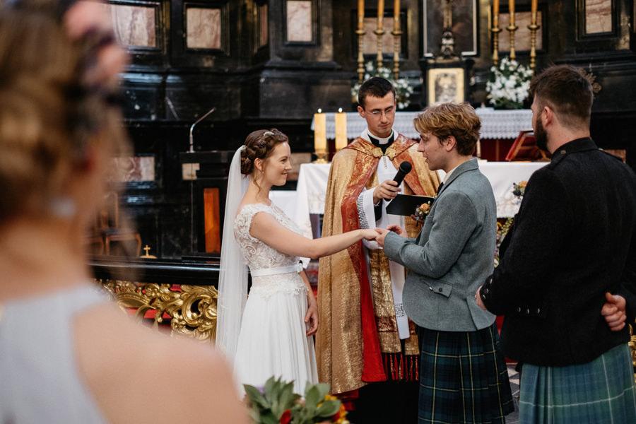 ceremonia ślubna kraków