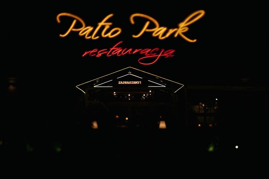 wesele patio park